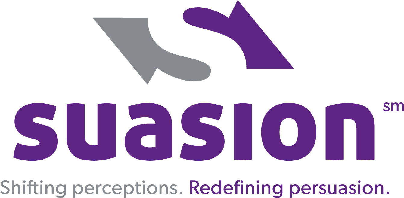 Suasion - Shifting perceptions. Redefining persuasion.